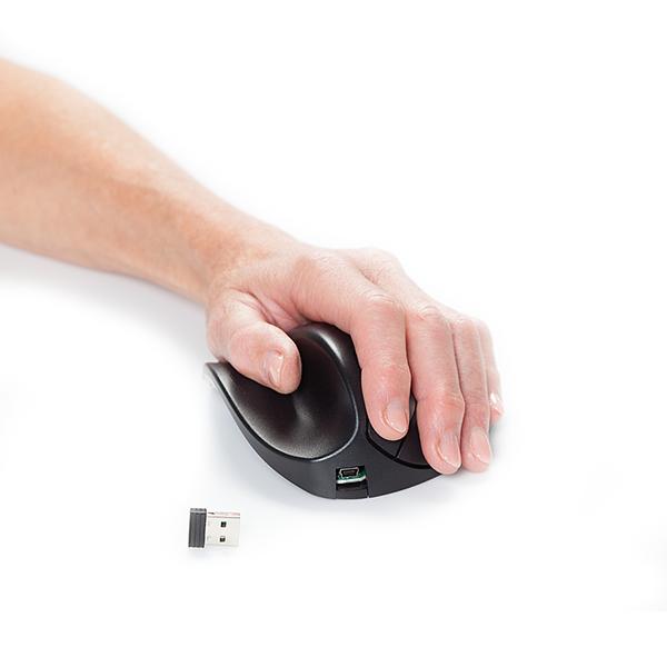 HandShoeMouse BRT LC Large Draadloos Links - ergonomische muis