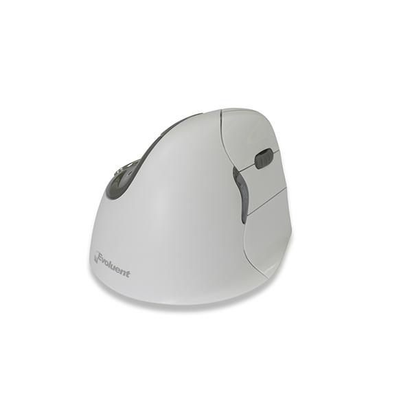 Evoluent V4 Bluetooth Wit - ergonomische muis