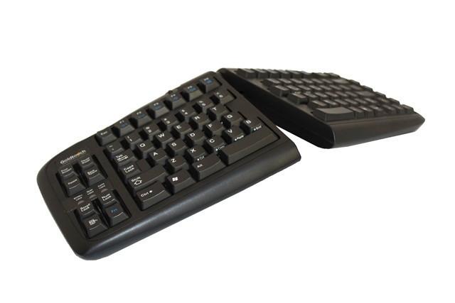 Goldtouch toetsenbord zwart AZERTY