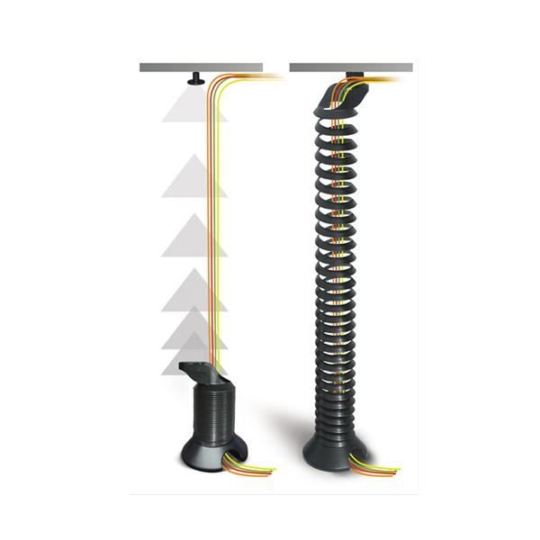 Kabelspiraal Zwart - kabelmanagement