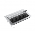Evoline Fliptop (4x230V) - kabelmanagement