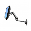 LX Wall Mount Monitor Arm Zilver - monitorarm