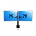 Skylon Double Zwart - monitorarm