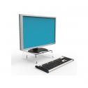 LCD Monitorstandaard Acryl - monitor verhoger