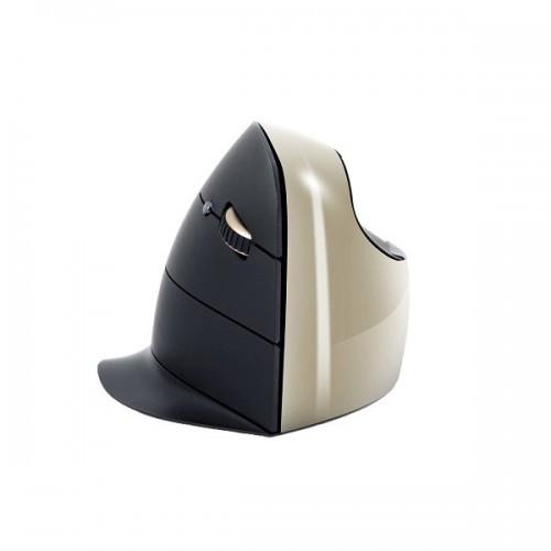 Evoluent C Rechts Draadloos Gold - ergonomische muis