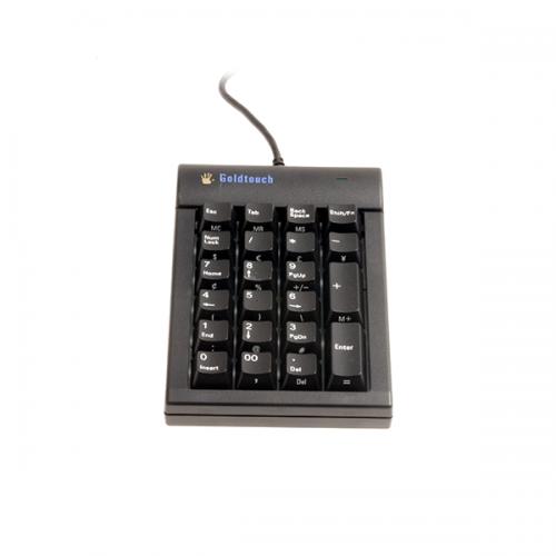 Goldtouch Numpad Zwart - numeriek toetsenbord