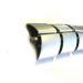 Kabelslurf Zilver Half-Ovaal